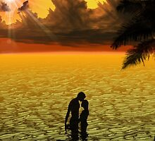 Tropical Honeymoon by Edmond  Hogge