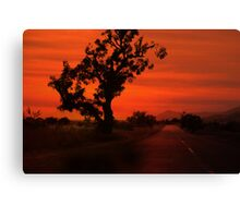 Dusky Highway Canvas Print