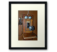 One Ringy-Dingy Framed Print