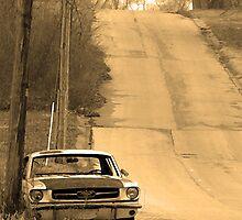 Mustang Sepia by AlbertStewart