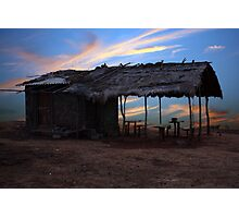 Countryside Hut Photographic Print