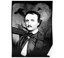 Edgar Poe Graveyard  Poster