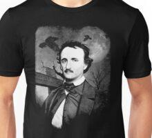 Edgar Poe Graveyard  Unisex T-Shirt
