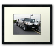 Party Wagon Framed Print