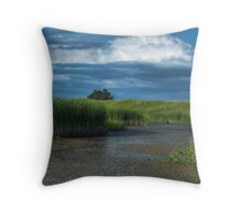 The Wetland Throw Pillow