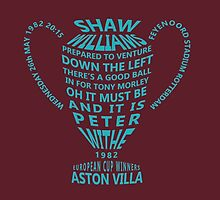 Aston Villa European Cup 1982 by twentyfourhours