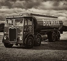 Albion Tanker B&W by David J Knight