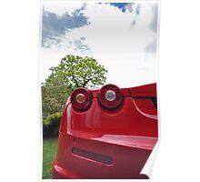 Ferrari F430 rear view Poster