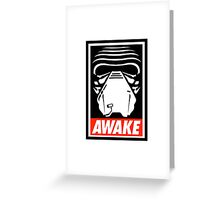 Obey Kylo Ren Greeting Card