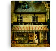 Bakers Canvas Print