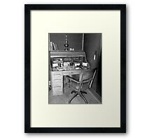 The Old Post Office Framed Print