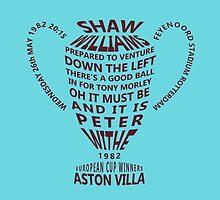 Aston Villa European Cup 1982 Alternative by twentyfourhours