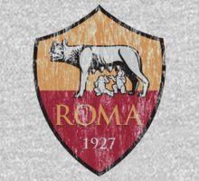 Roma 1927 Distressed Logo - Men's and Women's by boscotjones