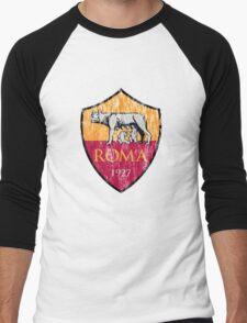 Roma 1927 Distressed Logo - Men's and Women's Men's Baseball ¾ T-Shirt