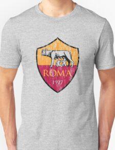 Roma 1927 Distressed Logo - Men's and Women's Unisex T-Shirt