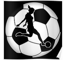 Woman's Soccer  Poster