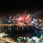 Fireworks from almost 700ft by izan0306