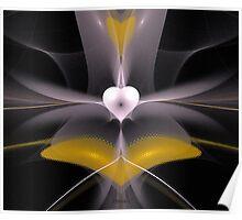 'Flying Heart' Poster