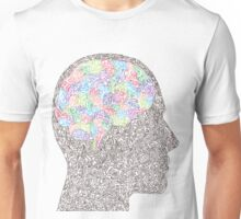 Brain Waves in Technicolor Unisex T-Shirt