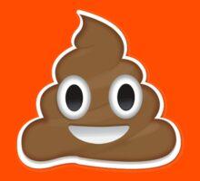 Poop Emoji Kids Tee