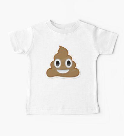 Poop Emoji Baby Tee