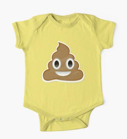Poop Emoji One Piece - Short Sleeve