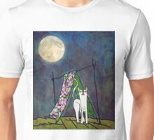 Moon in camping Unisex T-Shirt