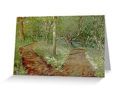 Botanical walk Greeting Card