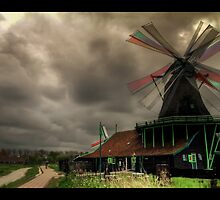 Windmills by dhoomakethu