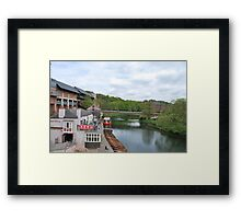 River Wear in Durham Framed Print