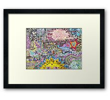 Here Comes The Sun... Framed Print