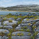 Mullaghmor, The Burren, County Clare - oil painting by Avril Brand