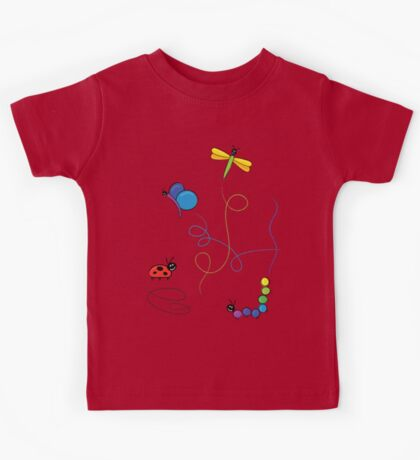 bug tracks Kids Tee