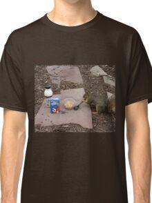Squirrel Grabbing Grub Classic T-Shirt