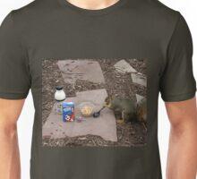 Squirrel Grabbing Grub Unisex T-Shirt