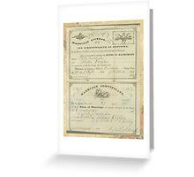 HUBBARD - VAUGHN Greeting Card