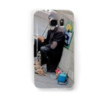 Man And His Puppies Samsung Galaxy Case/Skin