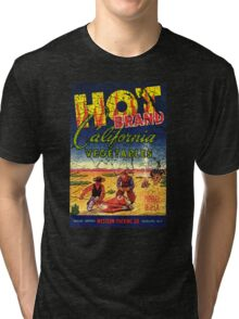 hot brand vegetables Tri-blend T-Shirt