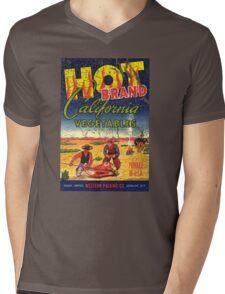 hot brand vegetables Mens V-Neck T-Shirt