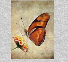 Butterfly on Flower Unisex T-Shirt