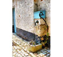 Lier - Public Pump - Belgium Photographic Print
