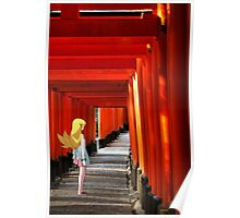 Monogatari – Shinobu Shrine Poster