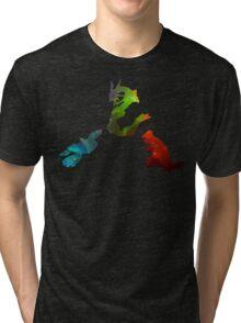 Pokemon- Clash of the Three Titans Tri-blend T-Shirt