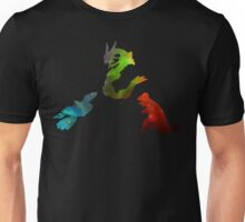 Pokemon- Clash of the Three Titans Unisex T-Shirt