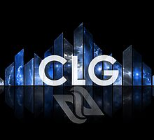 CLG COUNTERLOGIC GAMING LCS BLUE SPACE by Mike Edinger