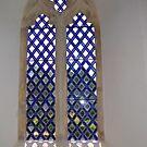 Church Window Dorset UK by lynn carter