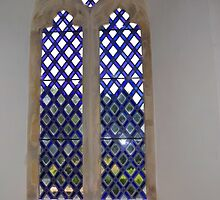 Church Window Dorset UK by lynn carter
