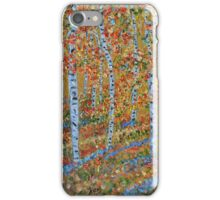 Strolling through the Aspens, Impressionism, wall art, home decor iPhone Case/Skin