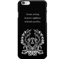 Grey Warden Motto Dragon Age iPhone Case/Skin