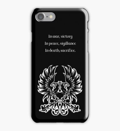 Grey Warden Motto Dragon Age iPhone Case/Skin